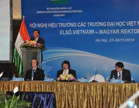Bộ trưởng GD-ĐT: Hỗ trợ tốt nhất cho hợp tác giáo dục đại học Việt Nam - Hungary