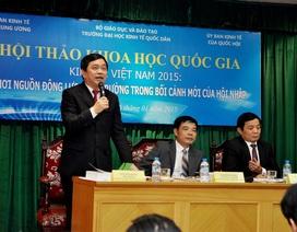 ĐH Kinh tế quốc dân tổ chức Hội thảo khoa học quốc gia về kinh tế Việt Nam 2015