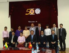Đẩy mạnh hợp tác giáo dục Việt Nam – Myanmar