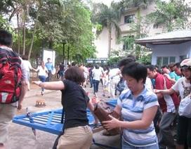 Cấm thi tuyển lớp 6: Thầy Văn Như Cương lo đổ cổng trường