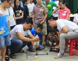 Tưng bừng Ngày hội công nghệ khoa học dành cho học sinh