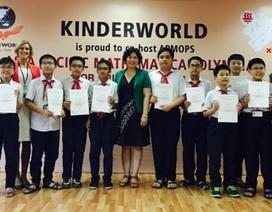 10 học sinh lớp 6 trường Hà Nội - Amsterdam tham dự Olympic Toán học APMOPS