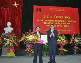 Bổ nhiệm lại Hiệu trưởng trường Đại học Hà Nội