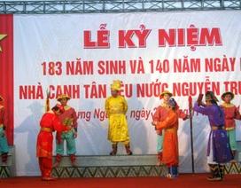 Kỷ niệm 140 năm ngày mất nhà yêu nước Nguyễn Trường Tộ