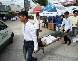 Nghệ An: Một nữ sinh ngất xỉu trong phòng thi