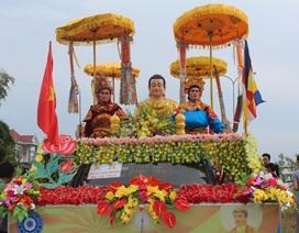 Hàng vạn người tham gia Đại lễ rước Ngọc Xá Lợi phật