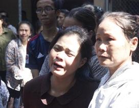 Đám tang đẫm nước mắt của 3 nam sinh đuối nước trong chùa