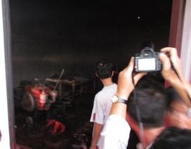 Cháy xưởng giày da ở Hải Phòng, 13 công nhân thiệt mạng