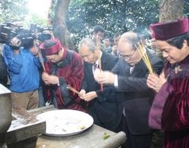 Hoàn tất hồ sơ đề cử di sản tín ngưỡng thờ cúng Hùng Vương