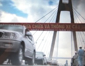 Thông xe cầu Bính sau hơn 2 năm sửa chữa