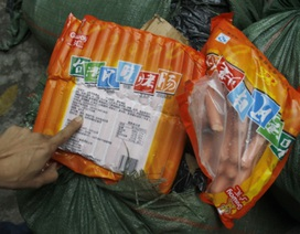 Bắt gần 1,5 tấn xúc xích, mì chính Trung Quốc tuồn lậu về Việt Nam