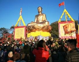 Khánh thành tượng đồng Phật hoàng Trần Nhân Tông lớn nhất Việt Nam