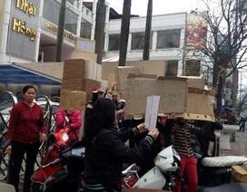 Hà Nội: Giải tỏa chợ Trung Tự, hàng trăm tiểu thương đứng trước nguy cơ thất nghiệp