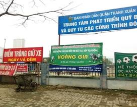 Thành phố Hà Nội chỉ đạo chấm dứt việc cho thuê  đất dự án công viên hồ điều hòa