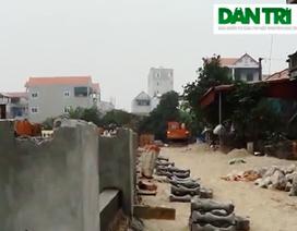 """Hà Nội: """"Xà xẻo"""" công trình phúc lợi tại """"điểm sáng"""" nông thôn mới"""