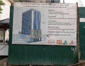Gây lún nứt hàng loạt nhà dân, tòa cao ốc bị đình chỉ xây dựng