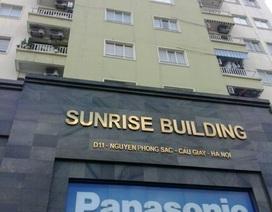 """Hà Nội: Công trình """"khủng"""" không phép nằm ngay trên nóc chung cư"""