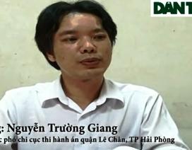 Vụ đánh cắp con dấu: Công an TP Hải Phòng xem xét xử lý hành vi chống thi hành án
