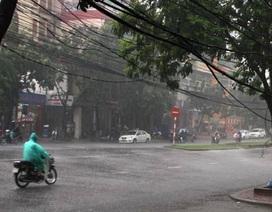 Bão số 2 suy yếu và tan dần, miền Bắc còn mưa, dông