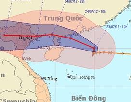 Chiều mai, bão vào Quảng Ninh, Hải Phòng
