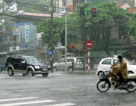 Toàn quốc mưa giông rải rác