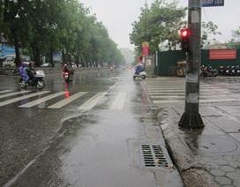 Miền Bắc mưa giông những ngày tới