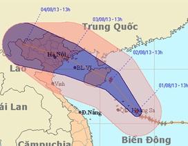 Bão số 5 hướng vào vùng biển Quảng Ninh - Hải Phòng