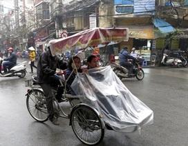 Miền Bắc mát mẻ, Trung - Nam có tố lốc và mưa đá