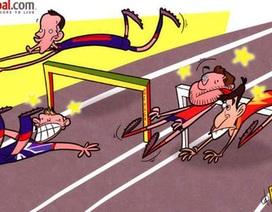 Vương quốc Anh, TBN vấp ngã ở Olympic London