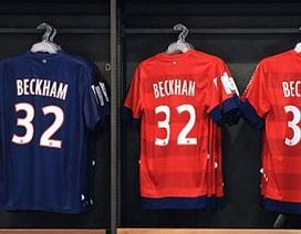 Doanh thu từ bán áo, giày của Beckham vượt ngưỡng 1 tỷ bảng