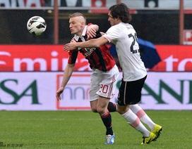 Balotelli lập cú đúp, AC Milan nhẹ nhàng vượt qua Palermo
