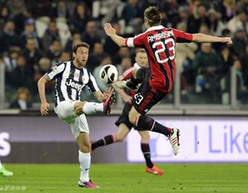 Đánh bại AC Milan, Juventus tiến rất gần tới ngôi vô địch