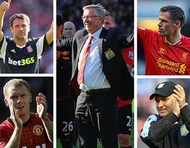 """Ngày chia tay đầy xúc cảm của những """"biểu tượng"""" Premier League"""