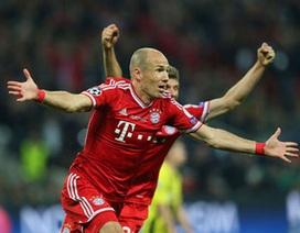Robben áp sát Messi, Ronaldo trong cuộc đua Quả bóng vàng