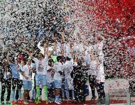 Đánh bại Roma, Lazio đoạt chức vô địch Coppa Italia