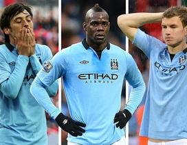 """Những cầu thủ Man City """"trượt dốc"""" thê thảm mùa này"""