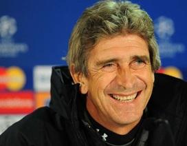 """Man City trao cho Pellegrini 100 triệu bảng """"mua sắm"""""""