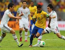 Brazil thi đấu ấn tượng: Bay trên đôi cánh của Neymar