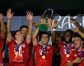Chùm ảnh: Niềm vui vỡ òa của Bayern trong ngày giành Siêu cúp châu Âu