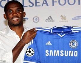 Eto'o ký hợp đồng 1 năm với Chelsea