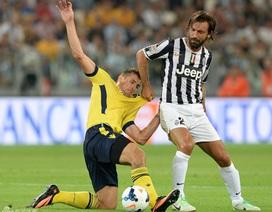 Tevez nổ súng giúp Juventus nghiền nát Lazio