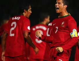 Vừa rực sáng, C.Ronaldo bất ngờ dính chấn thương