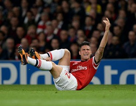 Olivier Giroud bị quá tải và muốn được nghỉ ngơi