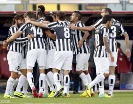 Hạ gục Livorno, Juventus trở lại ngôi đầu Serie A