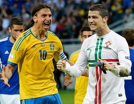 """C.Ronaldo - Ibrahimovic: Cuộc chiến của những """"người khổng lồ"""""""