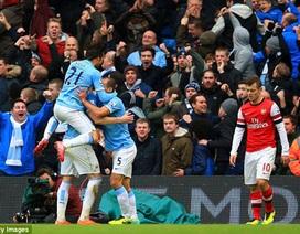 Arsenal gục ngã: Giông tố bắt đầu nổi…