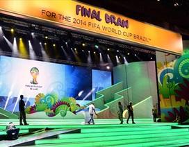 """Bốc thăm thử World Cup 2014: Hai bảng """"siêu tử thần""""…"""