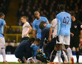 """Man City """"ngồi trên đống lửa"""" vì chấn thương của Aguero"""