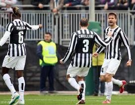 Juventus đại thắng, AC Milan thua sốc trước Sassuolo