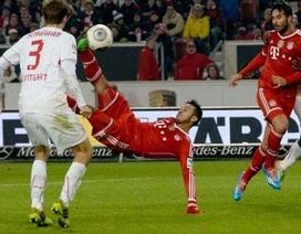 Thiago lập siêu phẩm mang về chiến thắng cho Bayern Munich